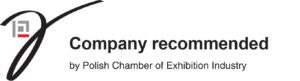 Company recommended by Polish Chamber of Exhibition Industry