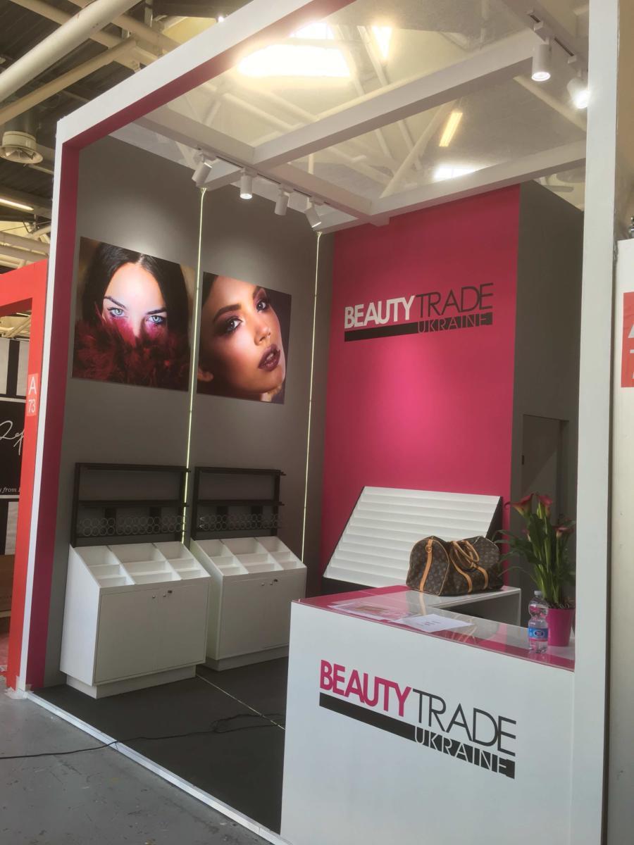 Cosmetic Exhibition Stand Design : Cosmetics abyss exhibition stand and design